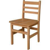 "Wood Designs™ 18"" Seat Height Hardwood Chair, Packed One Per Carton"