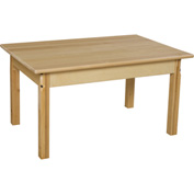 "Wood Designs™ 24"" x 36"" Rectangle Table with 18"" Legs"