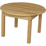 "Wood Designs™ 30"" Round Table with 18"" Legs"