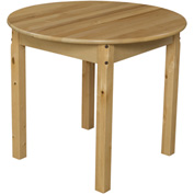 "Wood Designs™ 30"" Round Table with 22"" Legs"
