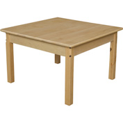 "Wood Designs™ 30"" Square Table with 20"" Legs"