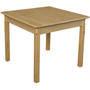 "Wood Designs™ 30"" Square Table with 24"" Legs"
