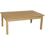 "Wood Designs™ 30"" x 48"" Rectangle Table with 20"" Legs"