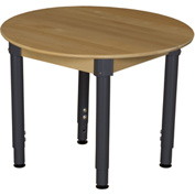 "Wood Designs 36"" Round Hardwood Activity Table with Adjustable Legs 18""- 29"""