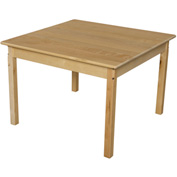 "Wood Designs™ 36"" Square Table with 24"" Legs"