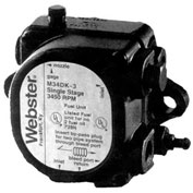 Webster® M Series Single Stage Pump M34DK-3, 3450 RPM, 3 GPH at 100 psi