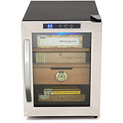 Whynter CHC-120S - Cigar Cooler Humidor, Stainless Steel, 1.2 Cu. Ft.