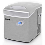 Whynter IMC-490SS - Ice Maker, Portable, Stainless Steel, Makes 49 Lbs. Per Day