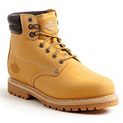 Dickies Men's Raider Work Boots DW7014FWE, Wheat, Size 7