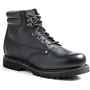 Dickies Men's Raider Steel Toe Work Boots DW7025FBK, Black, Size 10