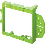 Legrand® AC1009-02 Two Gang Low Voltage Bracket, Face Mount, New Construction - Pkg Qty 12