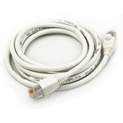 Legrand® CAT5e Snagless Patch Cable, 25 ft. (7.6 meter), White