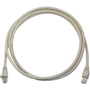 Legrand® AC6A25-GY-V1 25 Ft Cat 6a Patch Cable, Gray