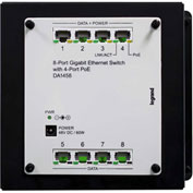 Legrand® DA1458 8-Port Gigabit Switch with PoE