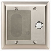 Legrand® F7596-BS Intercom Door Unit, Weather Resistant, Brushed Stainless