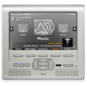 "Legrand® HA5010-TI 7"" LCD Console with High Performance lyriQ, Titanium"