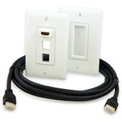 Legrand® HT2001-WH-V1 HDMI Premium In-Wall Connection Kit