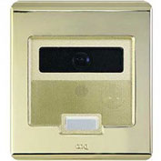 Legrand® IC5003-SB Selective Call Intercom Video Door Unit, Shiny Brass
