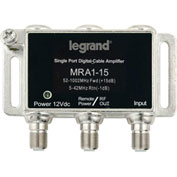 Legrand® VM2201-V1 Single-port RF Digital Cable Amplifier