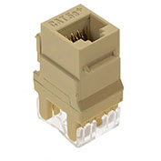 Legrand® WP3450-IV RJ45 Cat 5e Keystone Connector, Ivory (M20) - Pkg Qty 20