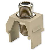 Legrand® WP3479-IV Non-Recessed Nickel F-Connector, Ivory (M20) - Pkg Qty 20