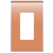 Legrand® WP5001-CR Studio Wall Plate, 1-Gang, Citrus