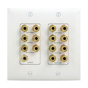 Legrand® WP9009-DM-V1 7.1 Home Theater Connection Kit, Almond