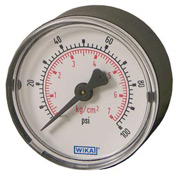 "2"" Type 111.12 60PSI Gauge - 1/8"" NPT CBM Steel"