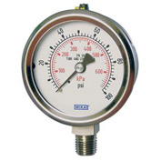 "4"" Type 232.53 600PSI Gauge - 1/4"" NPT LM Stainless Steel"