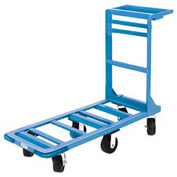Winholt® Utility Cart 550HD Heavy Duty Rubber Wheels