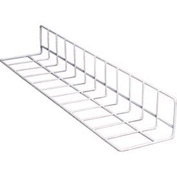 "Vinyl Coated Wire Fence Dividers, Produce, White Case, 24"" L, 12"" Side"