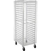 Winholt SRC-58/3Z, Bakery Rack Cover, Clear Plastic, 3 Zippers