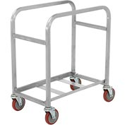 "Winholt Mobile Stainless Steel Lug Cart SS-L-2 Capacity 2 Lug, 25""L x 16""W x 33""H, No Lugs"