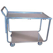Winholt® Galvanized Steel Wet Produce Cart WPT-2340 600 Lb. Cap.