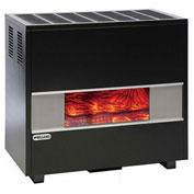 Williams Fireplace-Look Room Heater With Blower 3502922A Natural Gas 35000 BTU
