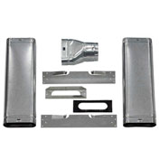 Williams Oval Vent Starter Kit 9929 For Forsaire Top-Vent Counterflow Furnaces