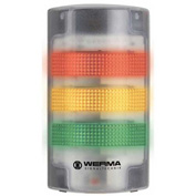 Werma 69120068 Flatsign BM Contin. Tone 115 - 230V AC, LED-Permanent/Blinking, Green/Yellow/Red