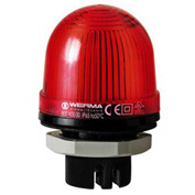 Werma 80110067 LED Perm. Beacon EM 115V AC, IP65, 25 Ma, 60 g, Red
