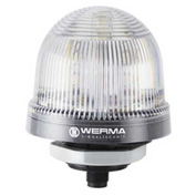 Werma 81648055 LED Perm. Beacon EM 24V DC, IP65, Max. 120 Ma, 99 g, PC, Multi Color