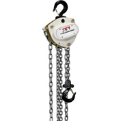 JET® L100 Series Manual Chain Hoist w/Overload Protection 1 Ton,10 Ft Lift