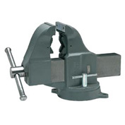 "Wilton 10404 Model 204-1/2M3 4-1/2"" Jaw Width 5-3/8"" Throat Combo Pipe & Bench Vise 360° Swivel"