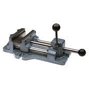 "Wilton 13402 Model 1206 6"" Jaw Width 1-3/16"" Jaw Opening Cam Action Drill Press Vise"