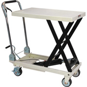 JET® SLT Series Scissor Lift Table with Folding Handle 140771 - 330 Lb. Cap.