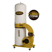 Powermatic 1791078K Model PM1300TX-BK 1.75HP 1-Phase 115/230V 30-Micron Bag Dust Collection Kit