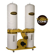 Powermatic 1792073K Model PM1900TX-BK3 3HP 3-Phase 230/460V Dust Collector W/ 30-Micron Bag Kit