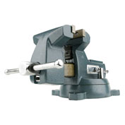 "Wilton 21800 Model 748A 8"" Jaw Width 4-3/4"" Throat Depth Mechanics Vise W/ Swivel Base"