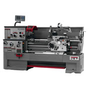 Jet 321303 GH-1440ZX Large Spindle Bore Lathe W/Acu-Rite 300S DRO & Taper Attachment, 7-1/2 HP