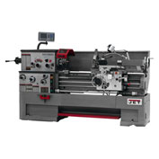 Jet 321304 GH-1440ZX Large Spindle Bore Lathe W/Acu-Rite 300S DRO & Collet Closer, 7-1/2 HP