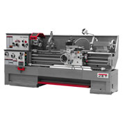 Jet 321452 GH-1860ZX Large Spindle Bore Lathe W/Newall DP700 DRO & Taper Attachment, 7-1/2 HP