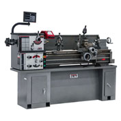 Jet 321581 GHB-1340A Geared Head Bench Lathe W/Newall DP700 DRO & Collet Closer, 2 HP